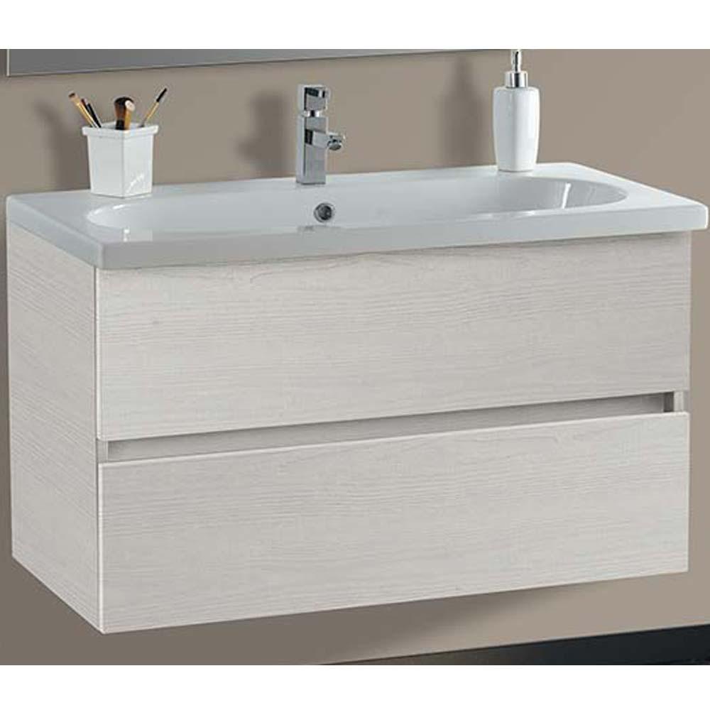 Mobile bagno 2 cassettoni lavabo specchio vica londra 100 for Vica arredo bagno