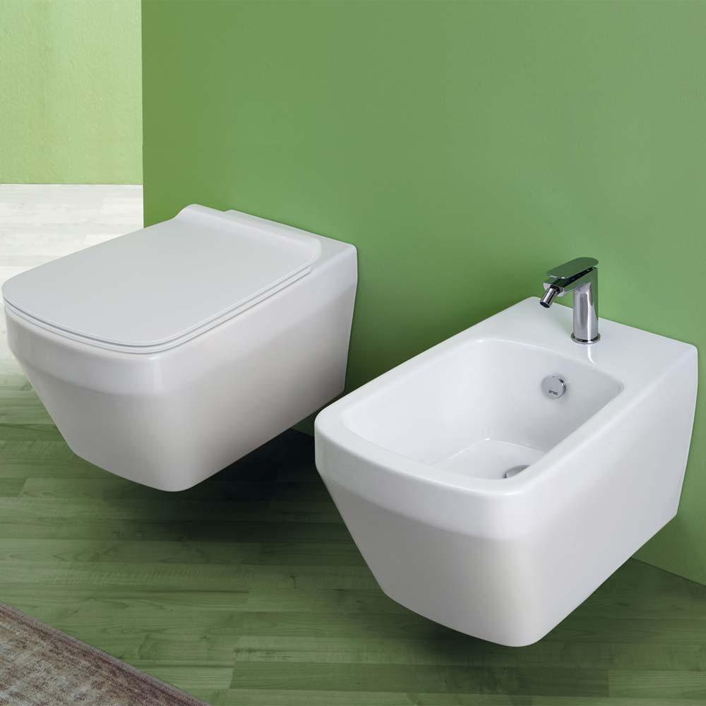 Bagno Senza Bidet Normativa simas modello baden baden sanitari sospesi wc sedile soft close bidet |  miroma ceramiche e arredo bagno