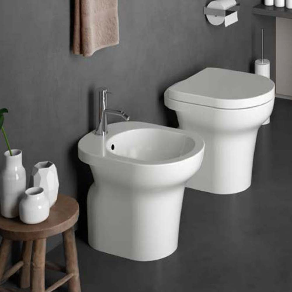 Cielo Linea Jo Sanitari Tradizionali Wc Bidet Monoforo Ceramica Bianco Miroma Ceramiche E Arredo Bagno